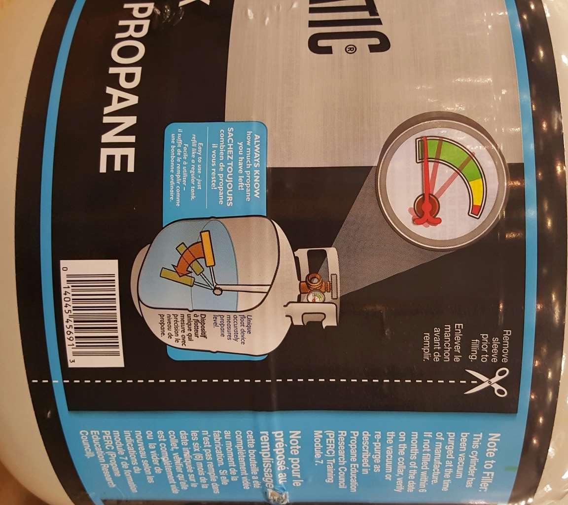 Changement des bonbonnes de gaz propane   Bonbon11