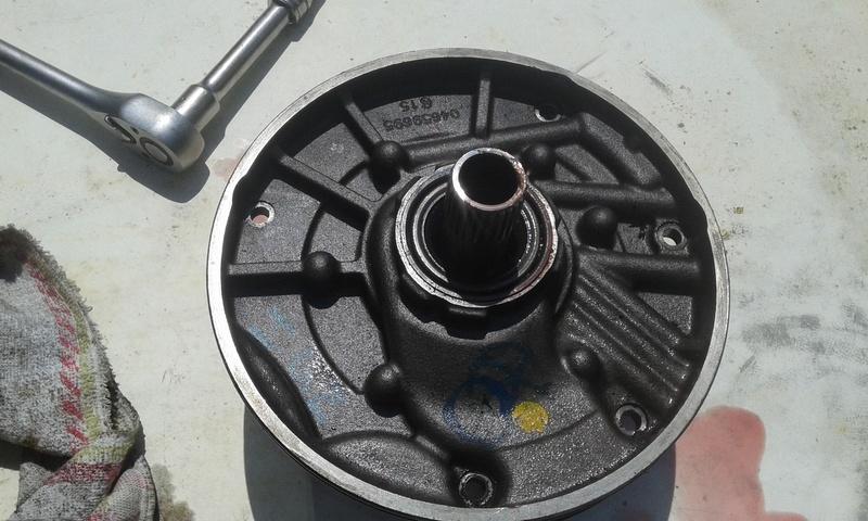 Pompe hydraulique de boite de vitesse automatique s4 2l8crd  20160816