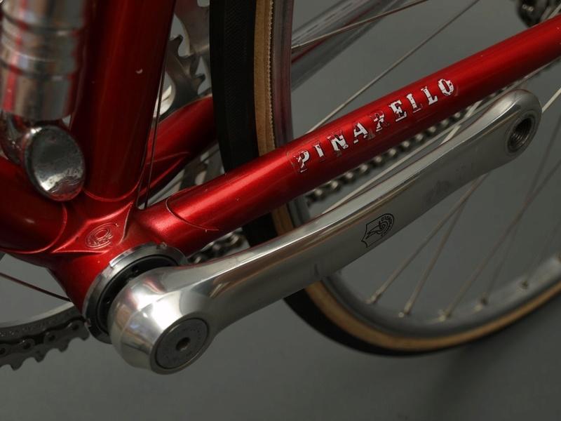 Vélo de course Pinarello identification P7146910