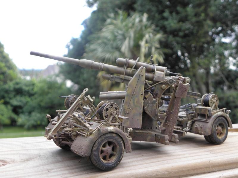 Flak37 88mm - Dragon - 1/35 fini  - Page 4 P6280310
