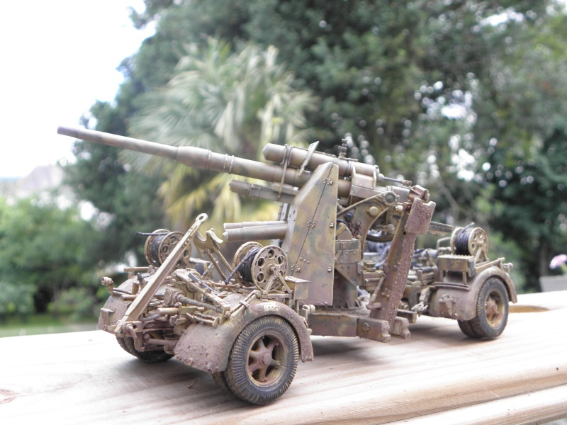 Flak37 88mm - Dragon - 1/35 fini  - Page 4 P6280312