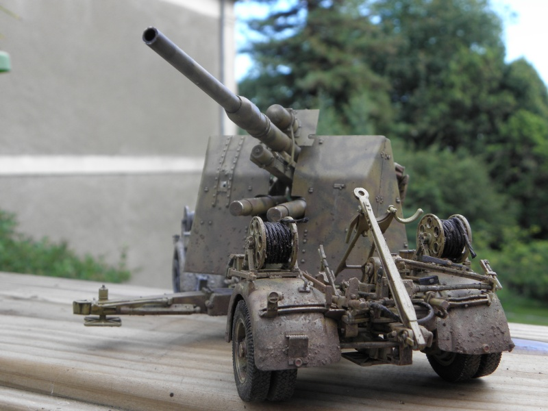 Flak37 88mm - Dragon - 1/35 fini  - Page 4 P6280317