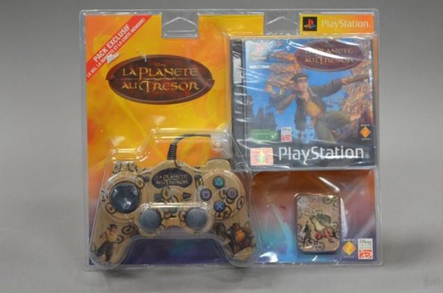 Recherche Pack Playstation 1 sous blister rigide Disney Bliste10