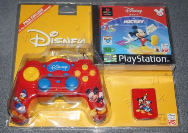 Recherche Pack Playstation 1 sous blister rigide Disney Dsc02210
