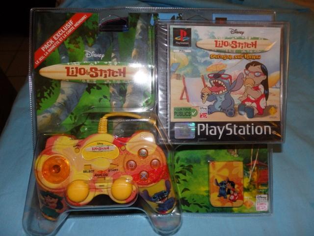 Recherche Pack Playstation 1 sous blister rigide Disney Lilopa10