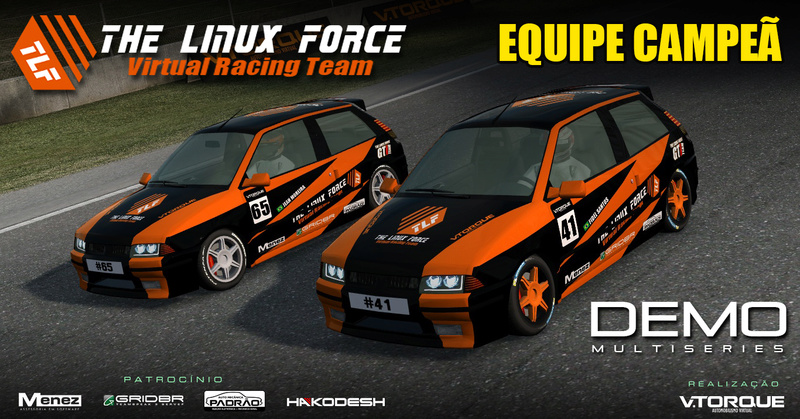 The Linux Force, equipe capeã do Demo MultiSeries! Banner13