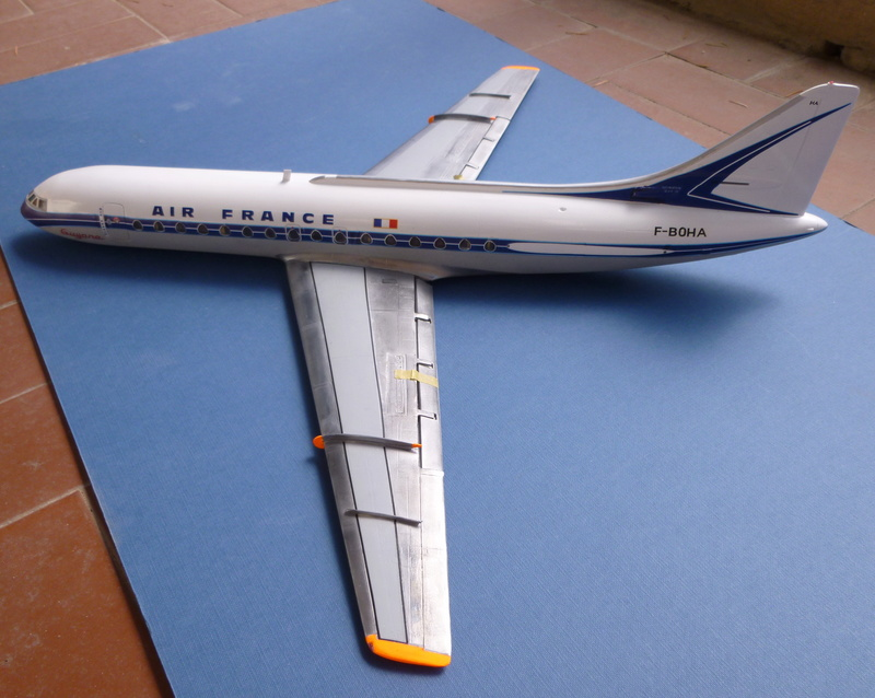 Sud-Aviation SE 210 Caravelle  Air France Mach 2 1/72 - Page 5 00513