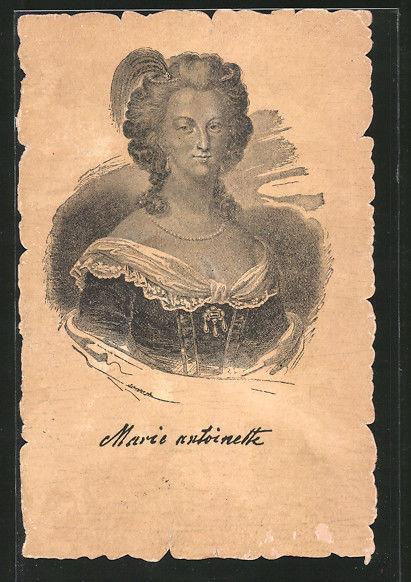 Cartes postales Marie-Antoinette Formid10
