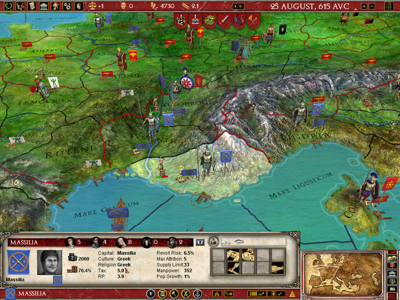 ►Europa Universalis : Rome Gold 411