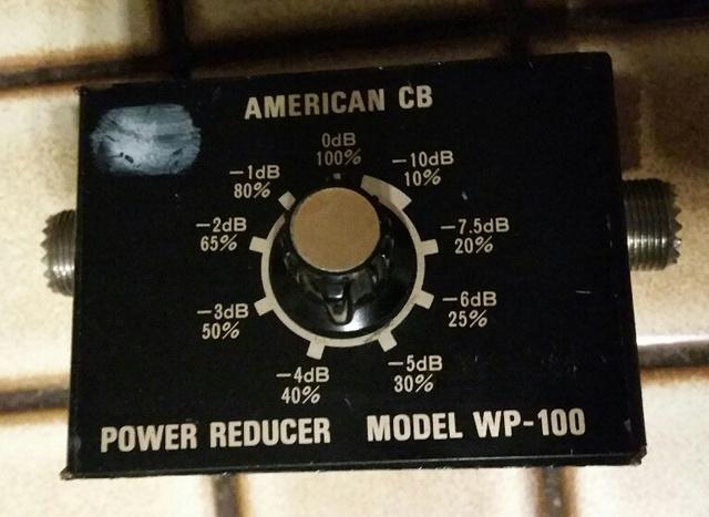American CB WP-100 (Reducteur de puissance) Reduct10