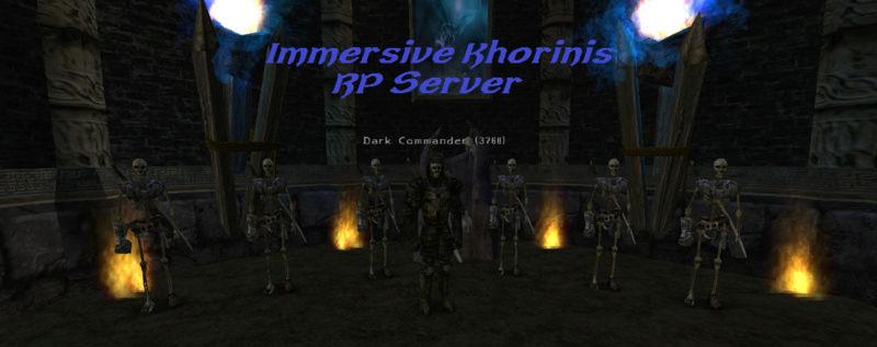 Immersive Khorinis RP server