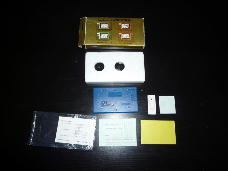 [ESTIM] Game & Watch Fire en boite complet P1040110