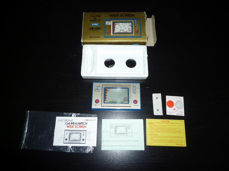 [ESTIM] Game & Watch Fire en boite complet P1040111