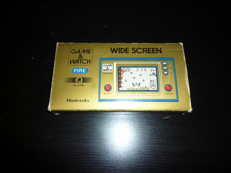 [ESTIM] Game & Watch Fire en boite complet P1040112