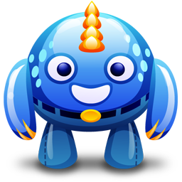 3d avatars  Blue-m10