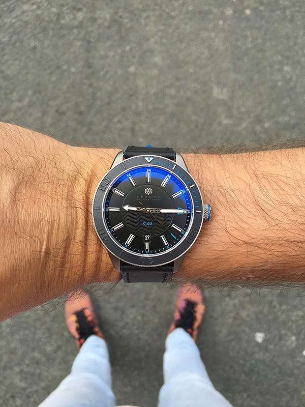 Alors cette Akrone K-02 , ça donne quoi ? ;)----- lancement imminent ! Wrist_11