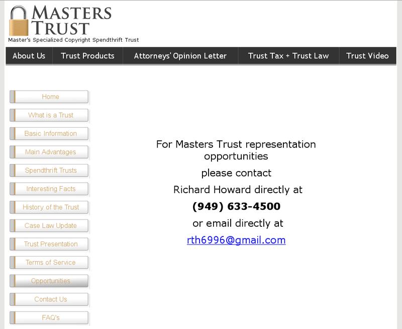 Is Garry Mcguire (Wingit) Involved In A Masters Trust Scam? Wingit18