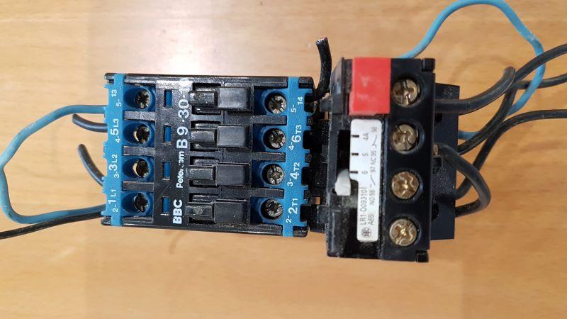 cablage contacteur magnéto thermique Contac10