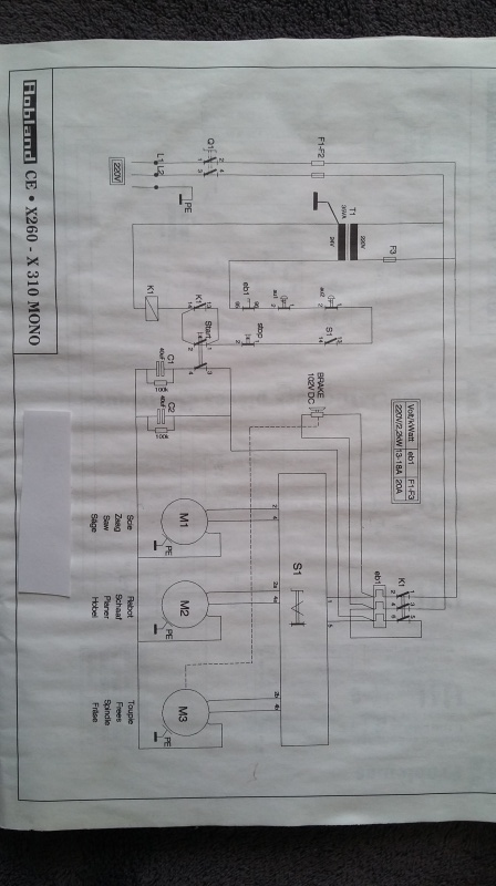 COMBINEE ROBLAND  X 260 MONO EN PANNE Schma_11