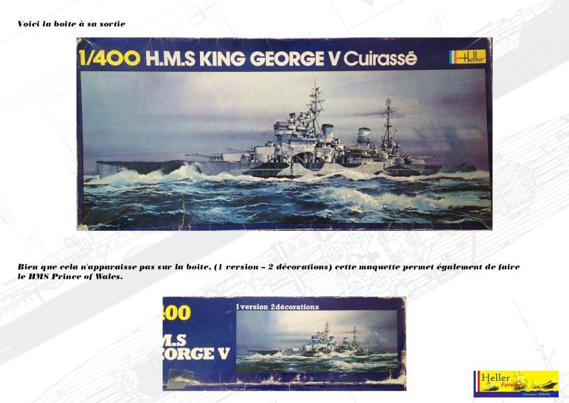 Cuirassé HMS KING GEORGE V Réf 1060 Concou20