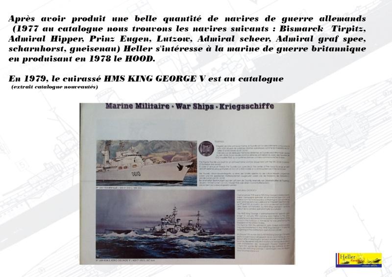 Cuirassé HMS KING GEORGE V Réf 1060 Concou21