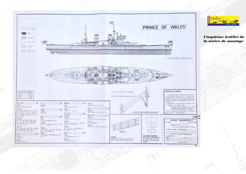 Cuirassé HMS KING GEORGE V Réf 1060 Concou25