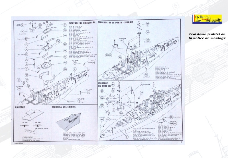 Cuirassé HMS KING GEORGE V Réf 1060 Concou27