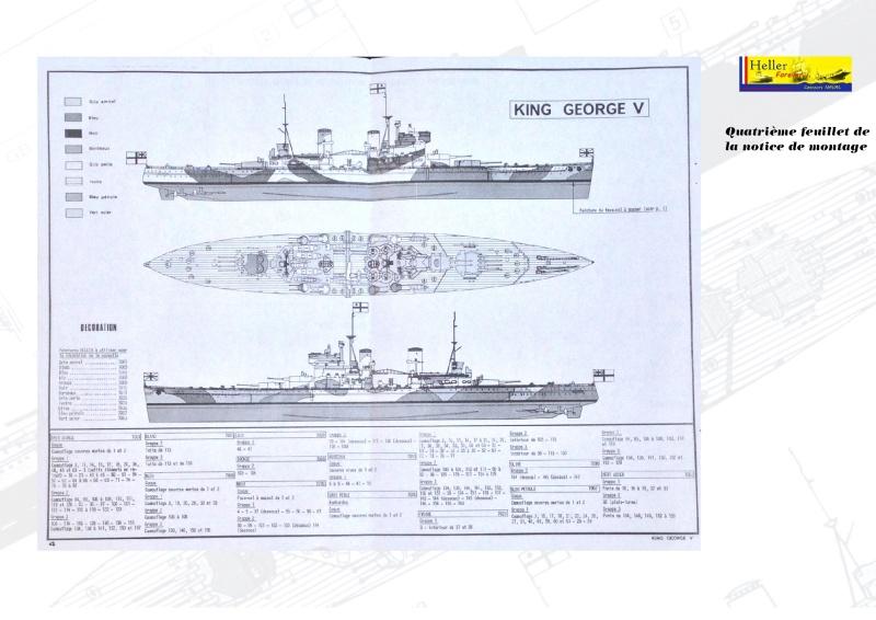 Cuirassé HMS KING GEORGE V Réf 1060 Concou28