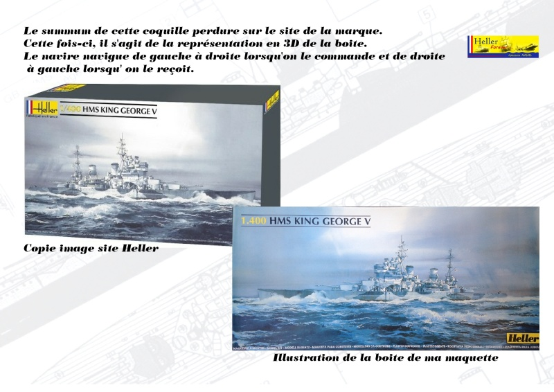 Cuirassé HMS KING GEORGE V Réf 1060 Concou29