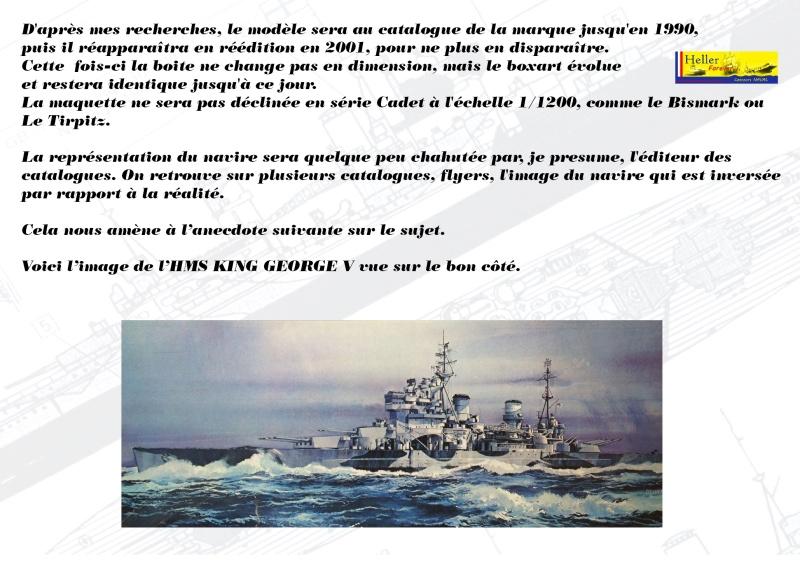 Cuirassé HMS KING GEORGE V Réf 1060 Concou35