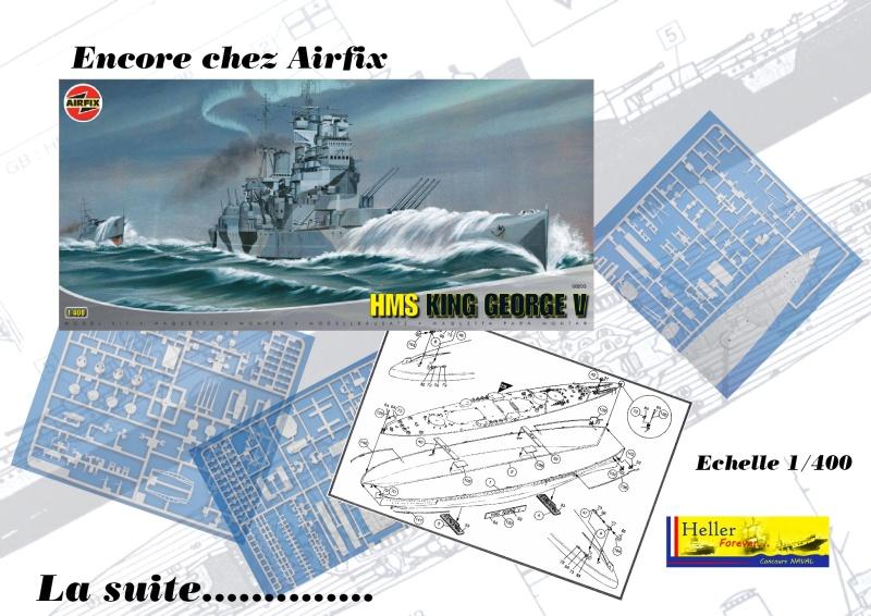 Cuirassé HMS KING GEORGE V Réf 1060 Concou41