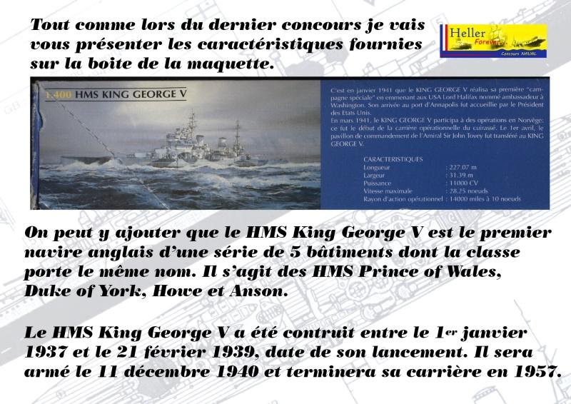Cuirassé HMS KING GEORGE V Réf 1060 - Page 2 Concou47