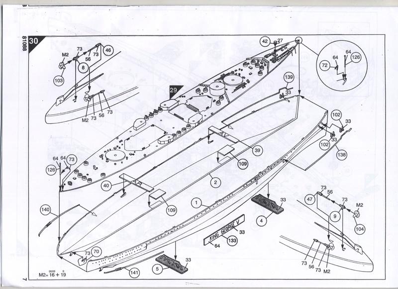 Cuirassé HMS KING GEORGE V - 81088 - Notice  Notice16