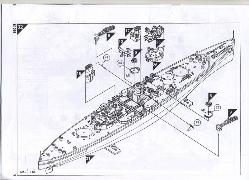 Cuirassé HMS KING GEORGE V - 81088 - Notice  Notice18