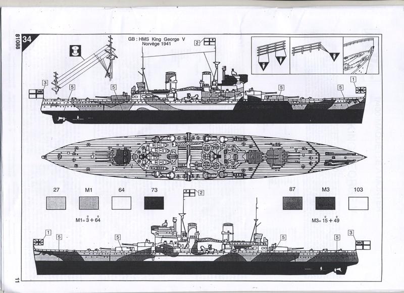 Cuirassé HMS KING GEORGE V - 81088 - Notice  Notice20