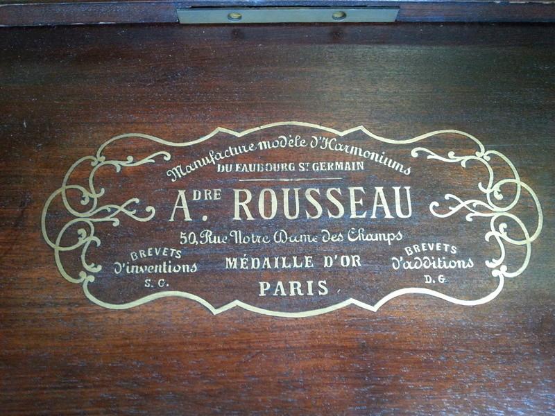 Datation des instruments de la Manufacture d'Alexandre Rousseau 20151010