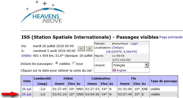 delta-Aquaride + ISS - 26/07/2016 - 3:04:14 Iss_he10