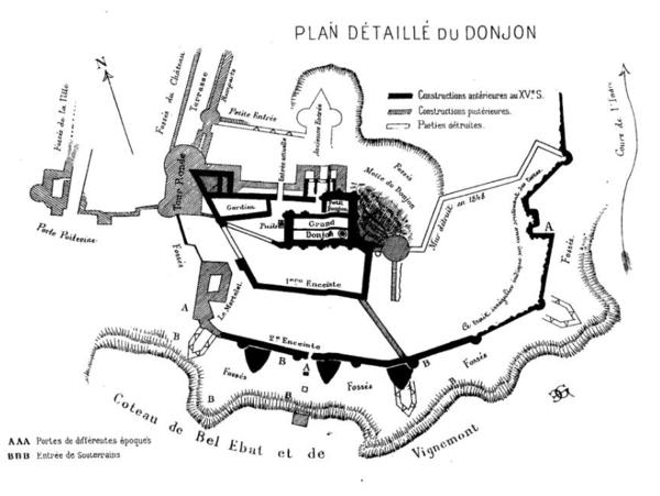 Mon projet fou: Diorama du Château de Loches 600px-10