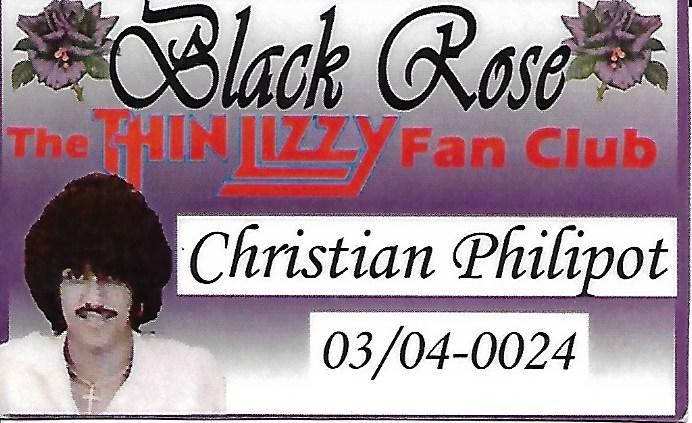 BLACK ROSE ANNIVERSARY TIMBRES EIRE POST Fanclu10