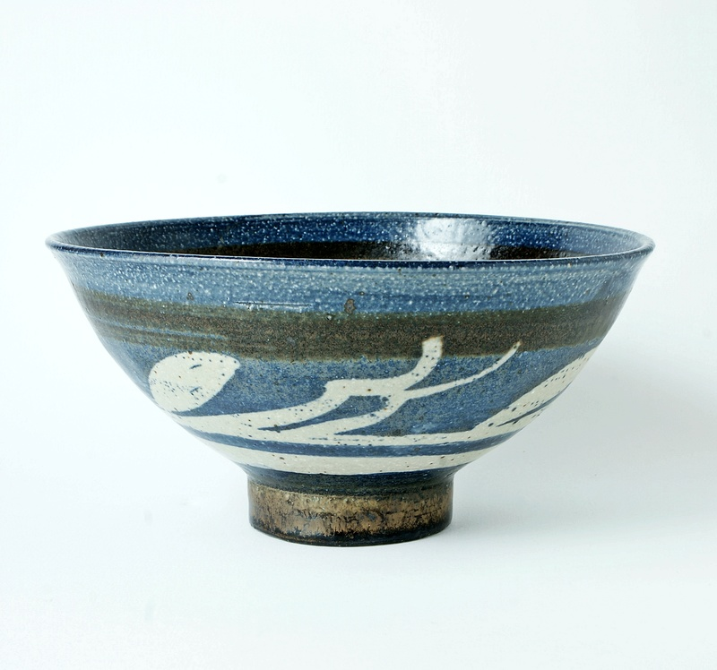 Studio Pottery Large Bowl. Dsc02113