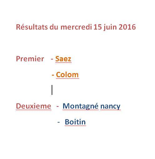 resultats du 15/06/16 Result11