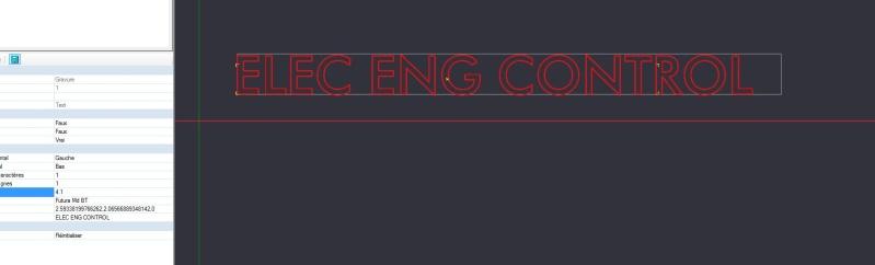 DXF -> Problème de taille de police Ele310