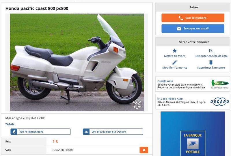 PC 800 toutes pièces  Pc80010