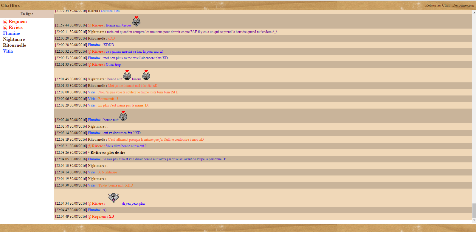 • Les perles de la chatbox ! - Page 2 Mdr11