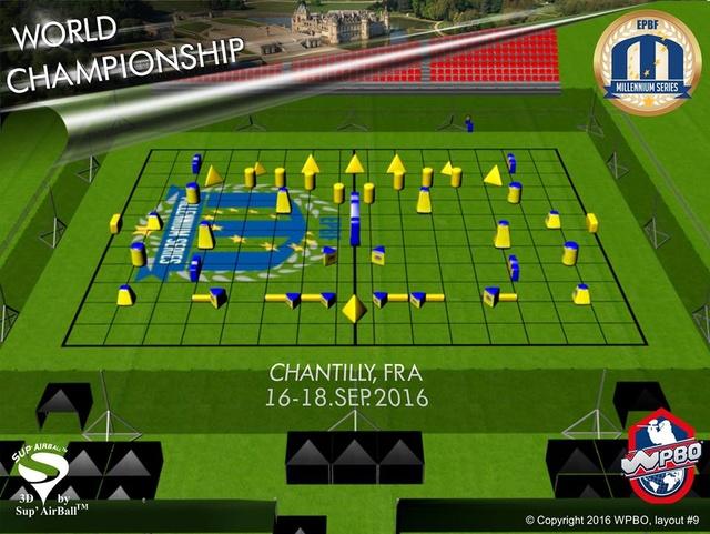 Millénnium Chantilly 2016: Layout L310