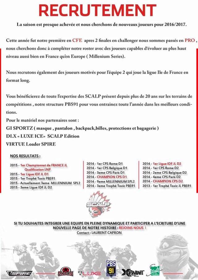 Team Scalp recrute (France /91) Scalpr10