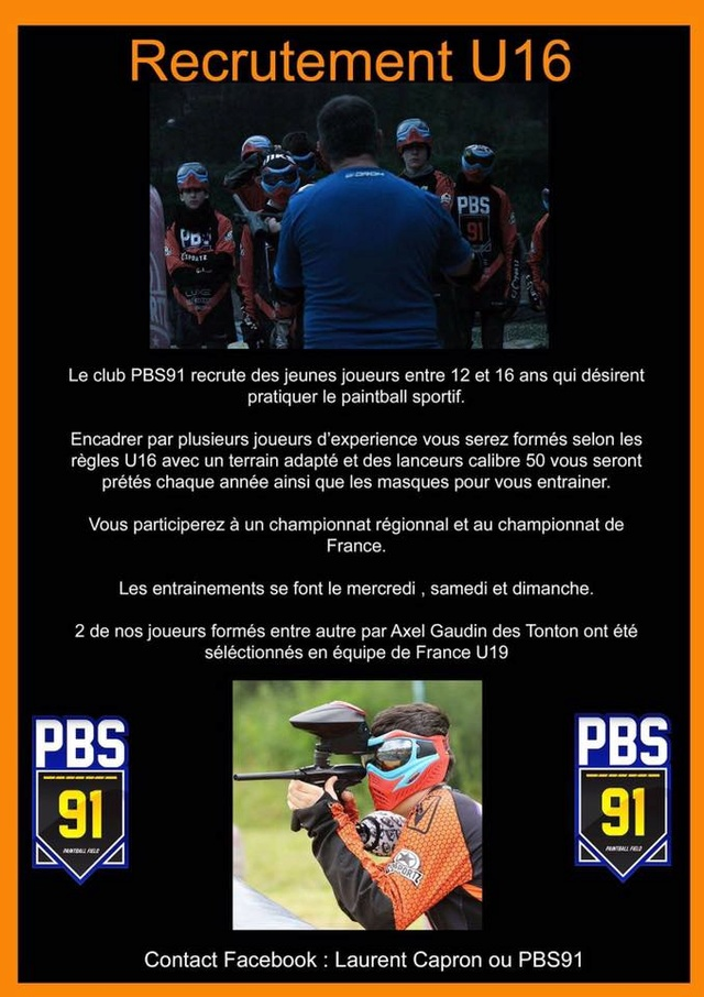 Team PBS 91 U16 recrute (France / 91) U16_pb10