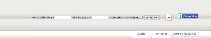 """Aligner la connexion rapide par rapport au bouton Facebook connexion et modifier le """"OU"""" Captur18"""