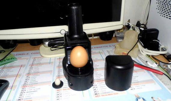 Appareil pour mirer les œufs Captur19