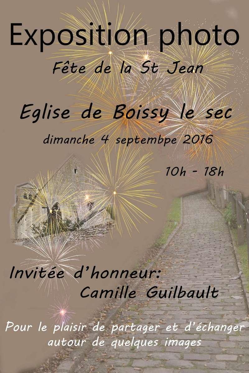 Exposition à Boissy le sec le 4 septembre 2016 Affich10